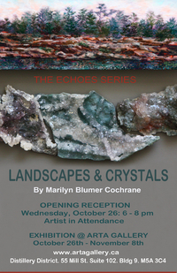 THE ECHOES SERIES - LANDSCAPES AND CRYSTALS