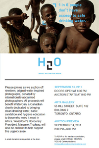 Margaret Trudeau and Fine Art Auction Supports Clean Water for Africa