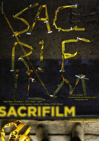Sacrifilm - An Interactive Installation at Scotiabank's Nuit Blanche